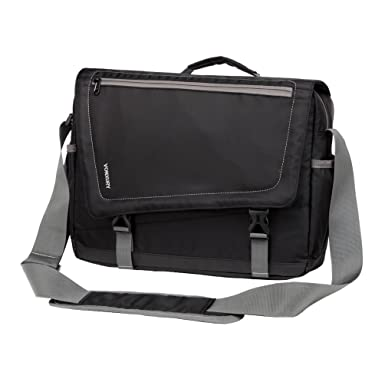 Amazon.com | Lightweight Water Resistant 15.6 Laptop Messenger Bag ...