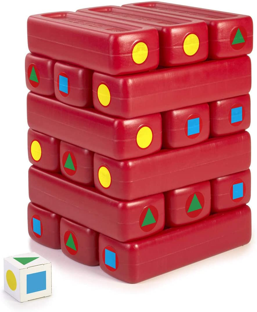 FEBER- Tower Bricks, Torre de Bloques de Juego, niñas a Partir de 3 años (Famosa 800012607): Amazon.es: Juguetes y juegos
