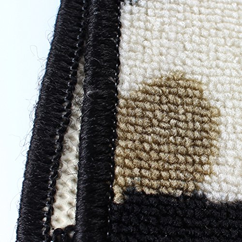 NRQU Door mat,Gate pad,Rug,Living room,Tea table,Den pad,[absorbent],Non-slipping blanket,Indoor mat,[child],Bedroom,Environmental mats-A 80x160cm(31x63inch) by NRQU (Image #3)