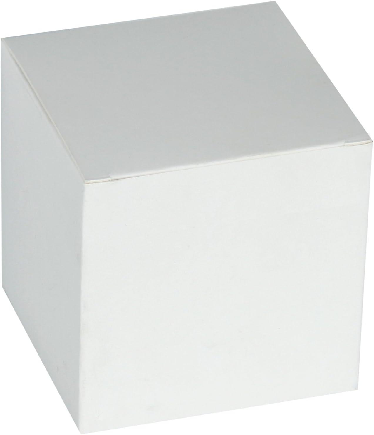 RUSPEPA Cajas De Regalo De Cartón Reciclado - Caja De Regalo Decorativa Mediana con Tapas para Regalos Y Cupcakes - 20.5X20.5X15.5 Cm - Paquete De 10, Blanco: Amazon.es: Juguetes y juegos