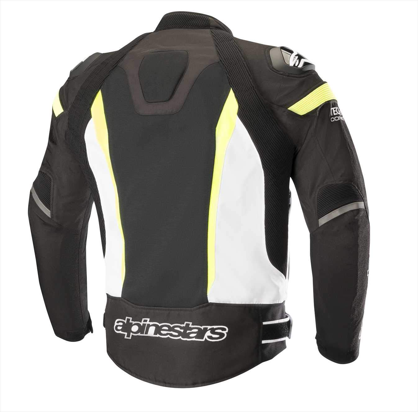 Alpinestars T-Missile Air Textile Motorcycle Jacket for Tech-Air Race Airbag System (XL, Black Black)