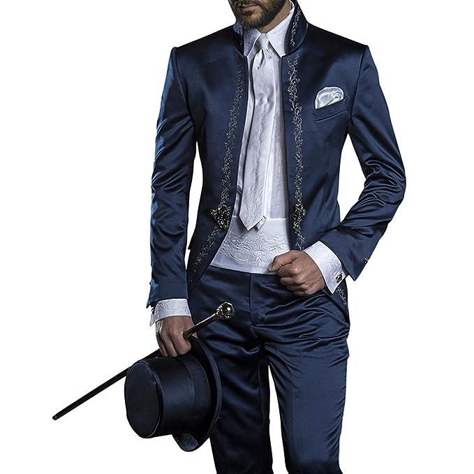 Judi Dench@ Vestido lleno Man 2 piezas traje con chaqueta, pantalones,Tama?