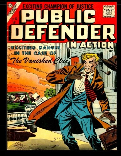 Download Public Defender in Action #12: Golden Age Detective - Mystery Comic ebook