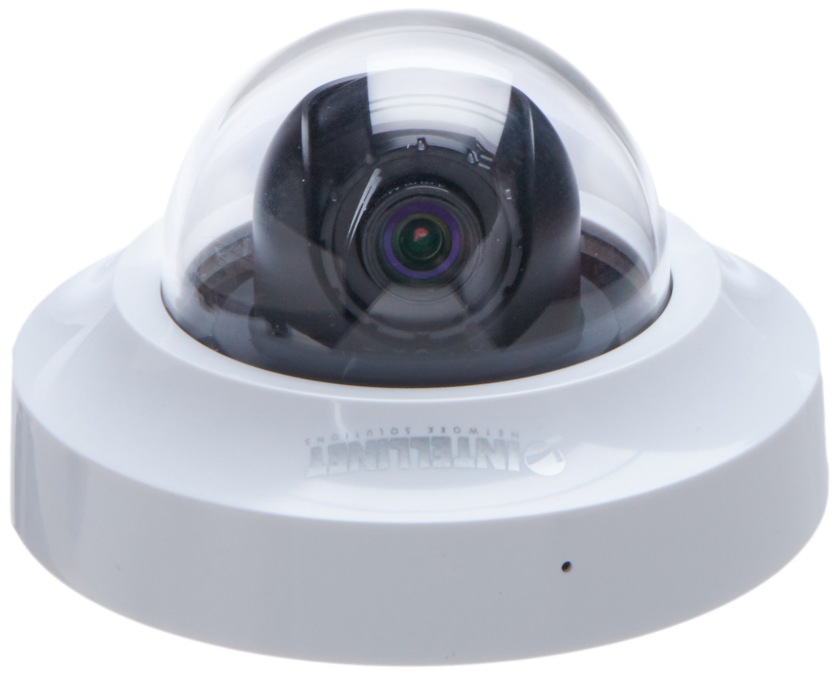 Intellinet 551441 HD 2.0 Megapixel Network Mini-Dome Camera (White)