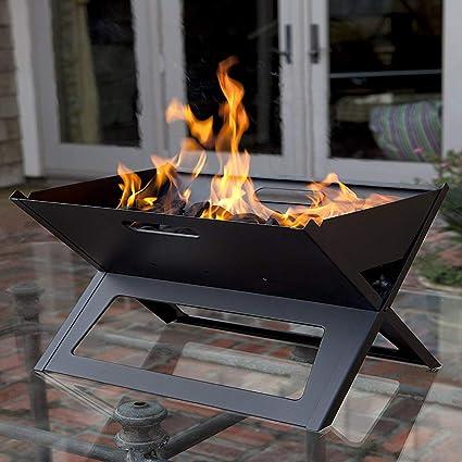 Amazon.com: KESS Barbacoa portátil de carbón para barbacoa ...