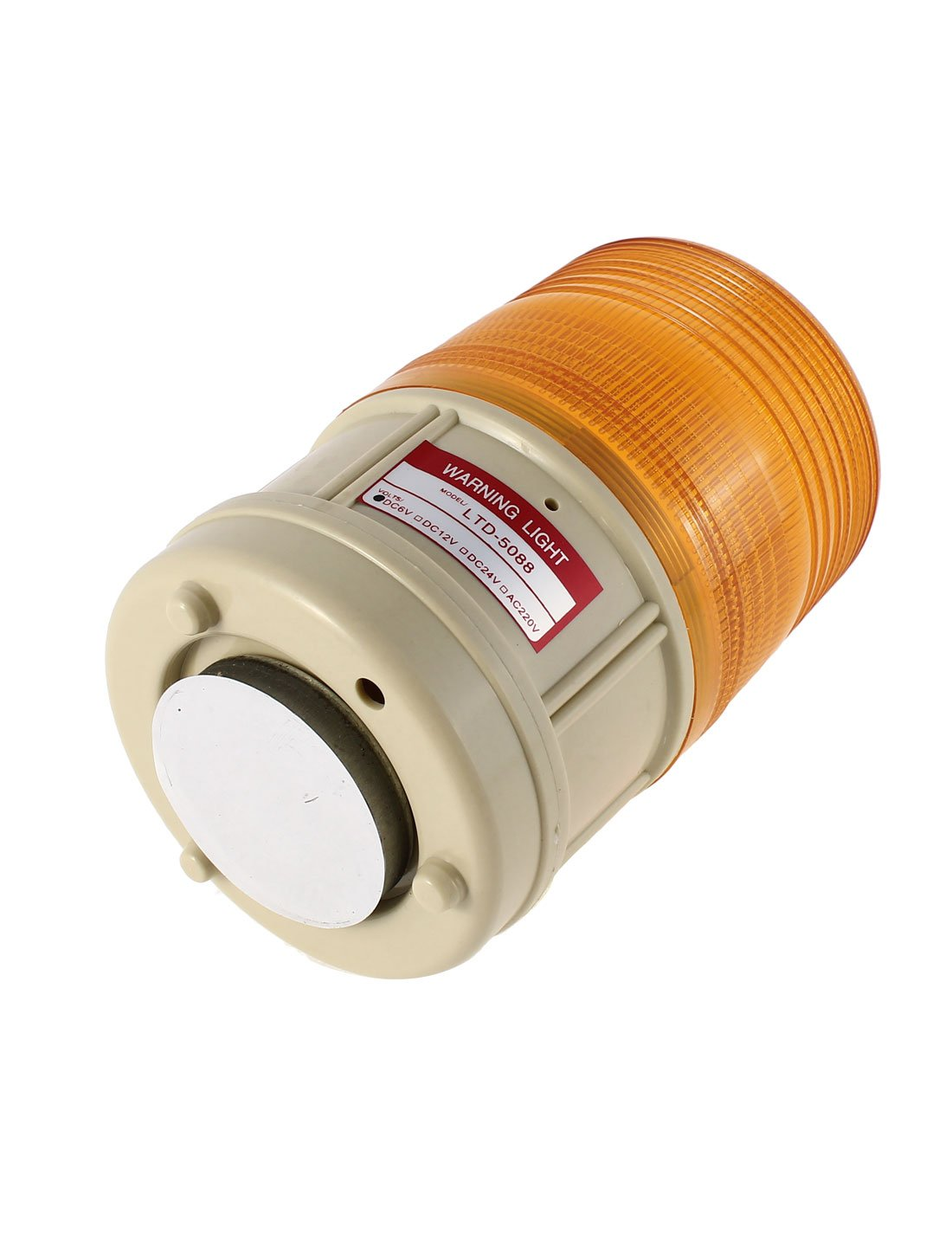 Gelb de magnetisch Industrial DC6 V-Notfall-Warnleuchte