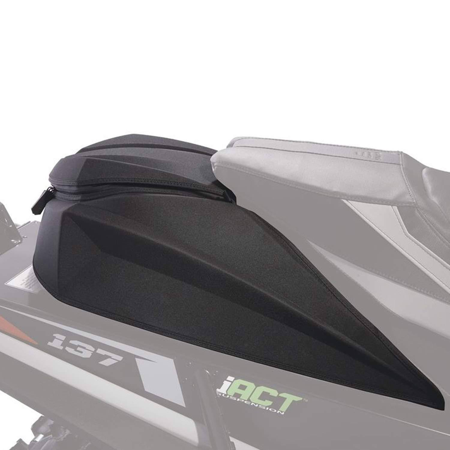 8639-030 Arctic Cat New OEM Large Black Tunnel Trial Pack Bag ZR XF