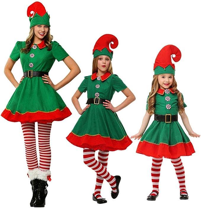 LSERVER - Disfraz de Elfo para Adultos y niños: Amazon.es: Ropa y ...