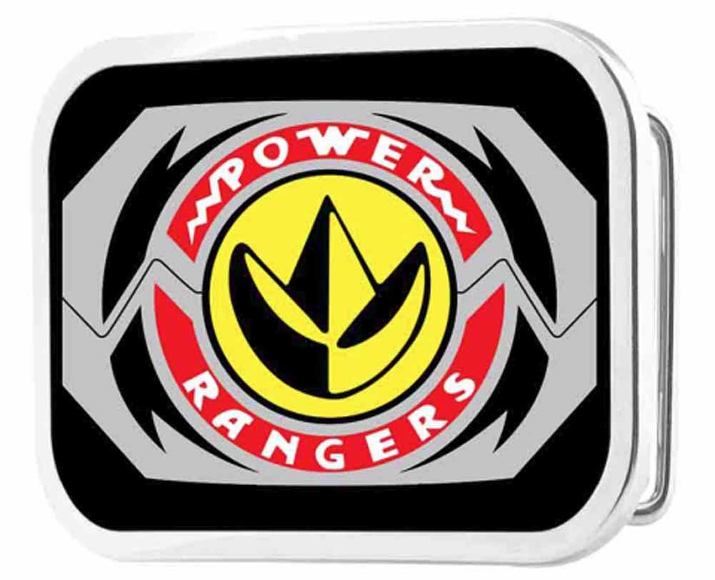 Power Rangers Live Action TV Series Dragon Zord Logo Rockstar Belt Buckle Buckle Down