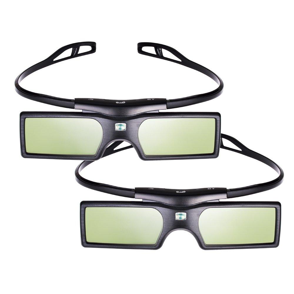 aa39b0ee9d1 Pergear reg  3D Active Shutter Glasses Bluetooth Eyewear Glasses for  Samsung Panasonic LG Bluetooth