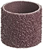 3M Cloth Band 341D, 1'' Diameter x 1'' Width, 36 Grit, Brown (Pack of 100)