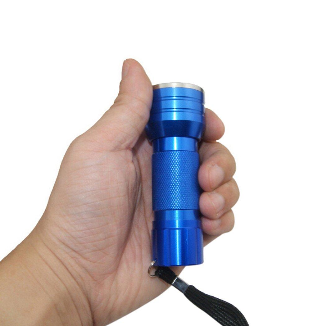 Blacklight linterna, bangcool 21 UV LED ultravioleta 395 nm linterna negra, mascotas Detector de Orina y las manchas: Amazon.es: Iluminación