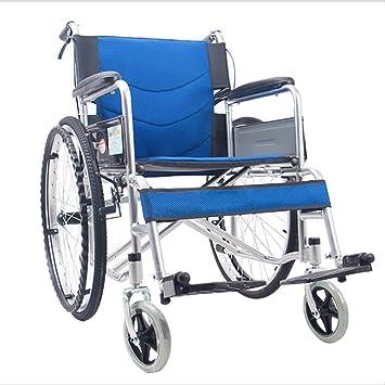 DPPAN Drive Medical Transport Silla de ruedas Reposapiés de elevación de tubo de acero portátil,