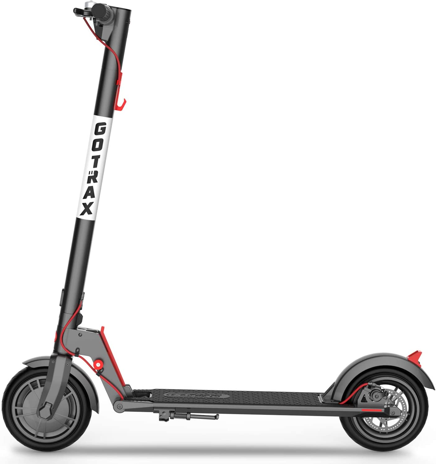 "Amazon.com : GOTRAX GXL V2 Commuting Electric Scooter - 8.5"" Air Filled Tires - 15.5MPH & 9-12 Mile Range - Version 2 (Black) : Sports & Outdoors"