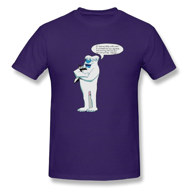 Tshirt-Men's Hugo The Abominable Snowman Tshirt Shirt.