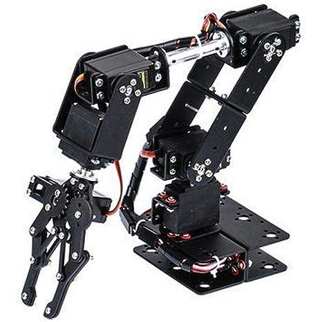 Kit de garra de brazo mecánico 6DOF, manipulador DOF Robot industrial Pinza de brazo mecánico Piezas automáticas de robot: Amazon.es: Industria, empresas y ciencia
