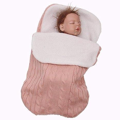 Saco de dormir de punto para bebés de 1 a 2 años