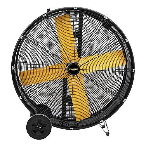 Master PROFESSIONAL High Capacity Direct-Drive Barrel Fan, 36-inch, 1/2hp motor, 2 Speed, 13,000 CFM, OSHA Compliant - MAC-36D
