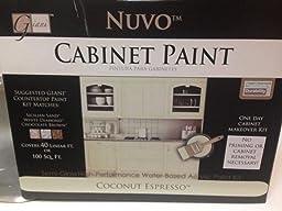 Amazon.com: Nuvo Coconut Espresso 1 Day Cabinet Makeover Kit: Home ...