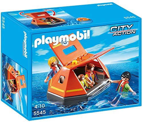 PLAYMOBIL Life Raft Playset ()