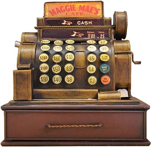 Retro Antiguo Modelo De Caja Registradora, Decoración Suave para ...