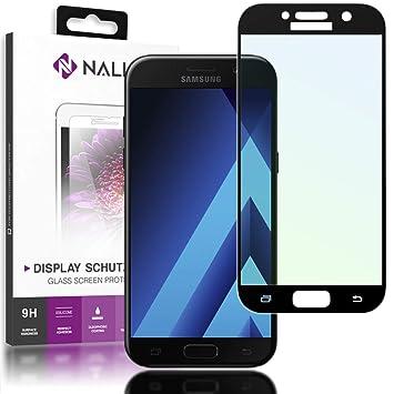 NALIA Cristal Templado Compatible con Samsung Galaxy A3 2017 ...