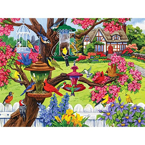 Bits and Pieces - 500 Piece Jigsaw Puzzle for Adults - Bountiful Spring 500 - 500 pc Jigsaw by Artist Nancy Wernersbach