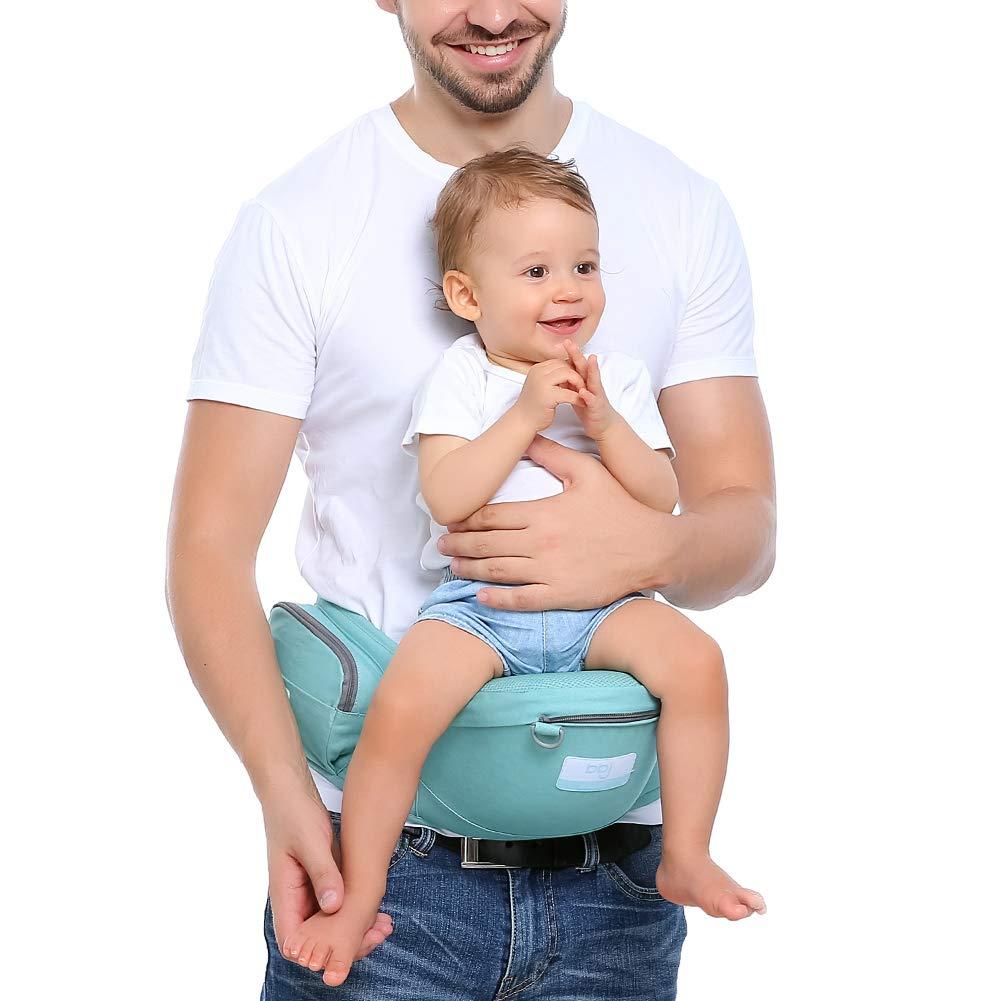 Khaki KEEZSHOP Baby Taille Hocker Position Einstellbar l/änger G/ürtel Leichte Babytrage Baby H/üftsitz Geschenk f/ür Neue Eltern
