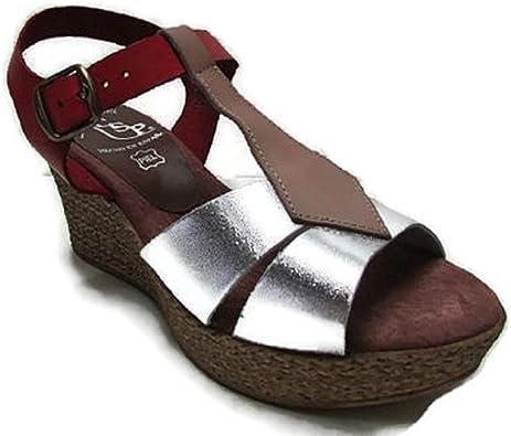 Zapato CUÑA 7CM Piel Hecho EN ESPAÑA 215 T37EU: Amazon.es: Zapatos y complementos