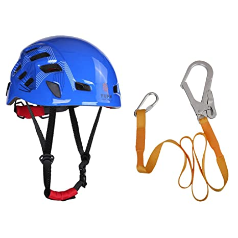monkeyjack montañismo casco + Rock árbol escalada Correa Cinturón ...