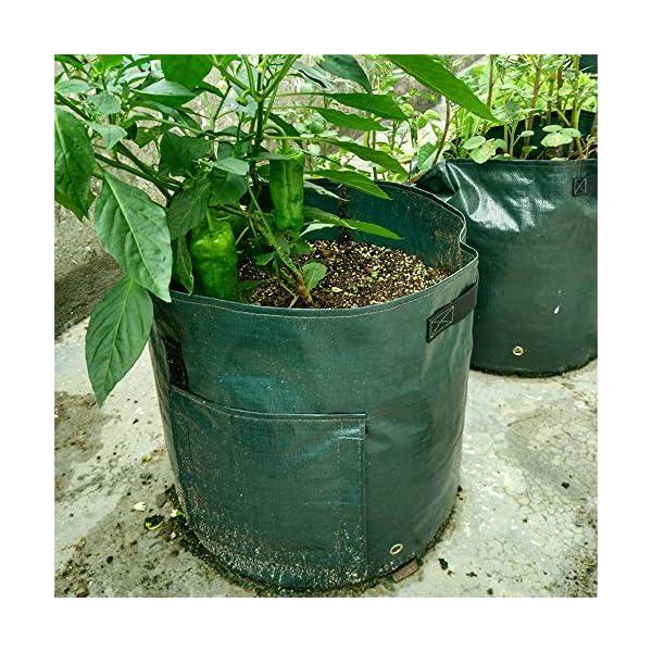 Coltivazione Di Patate Borsa Contenitore Fioriera Fai Da Te Pe Panno Piantatura Orto Giardinaggio Verdura Vaso Da… 6 spesavip