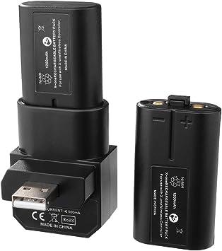 XCSOURCE® Xbox One Controlador 400mAh batería Recargable Dual + USB Kit de Carga de Muelle BC574: Amazon.es: Electrónica