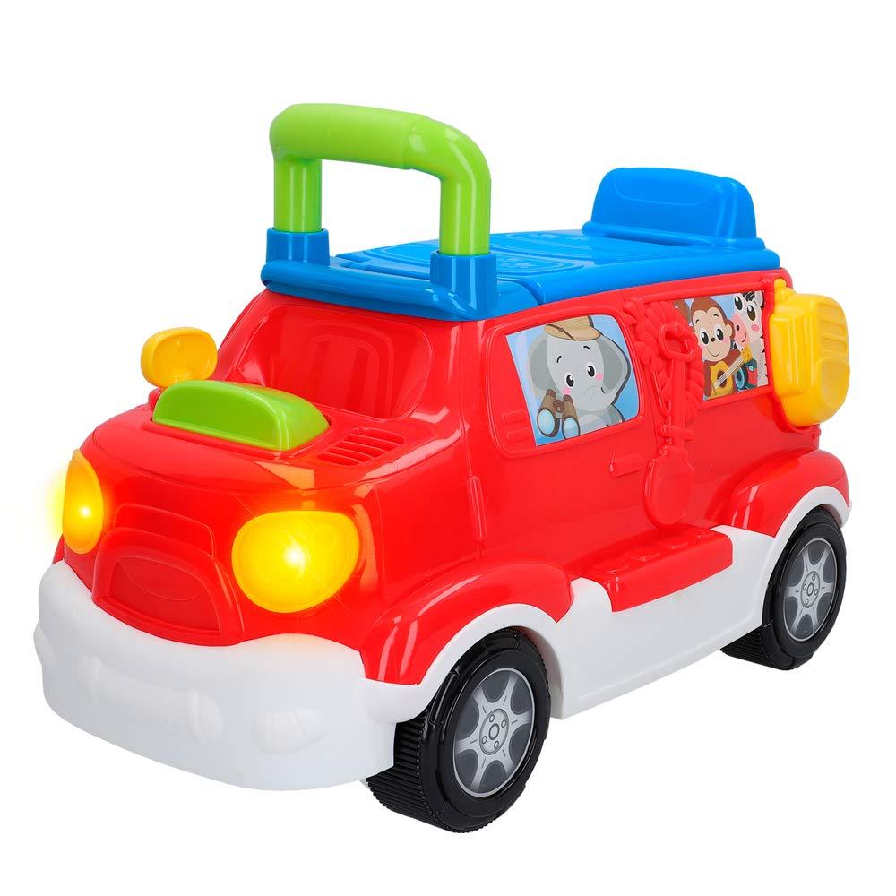 winfun - Correpasillos camión con luces y sonidos Safari (46335)