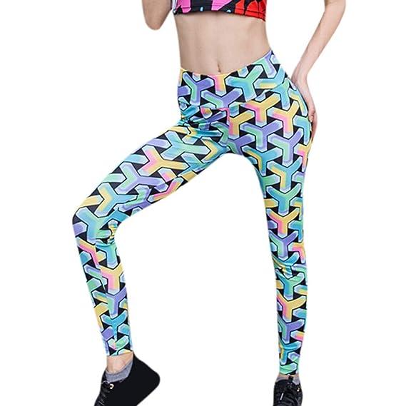 Leggings Impresión Pantalones de Yoga, YpingLonk Leggings ...