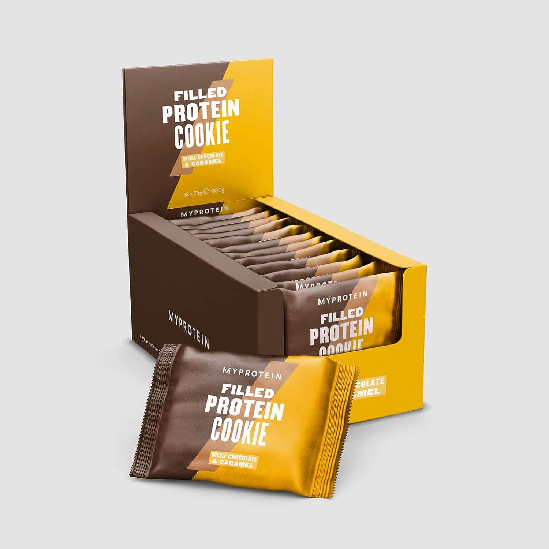 Myprotein Filled Protein Cookie (12x75g) 12 Unidades 900 g