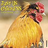 Just Us Chickens 2019 Wall Calendar