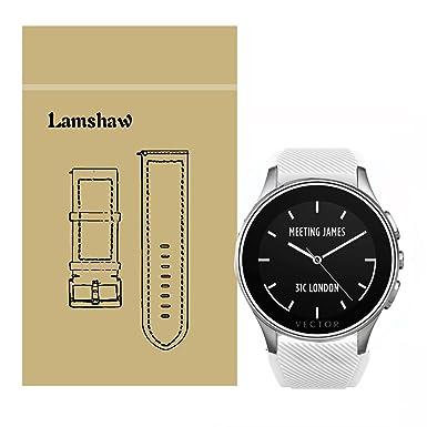 lamshaw Smartwatch bandas para Vector reloj luna, silicona ...