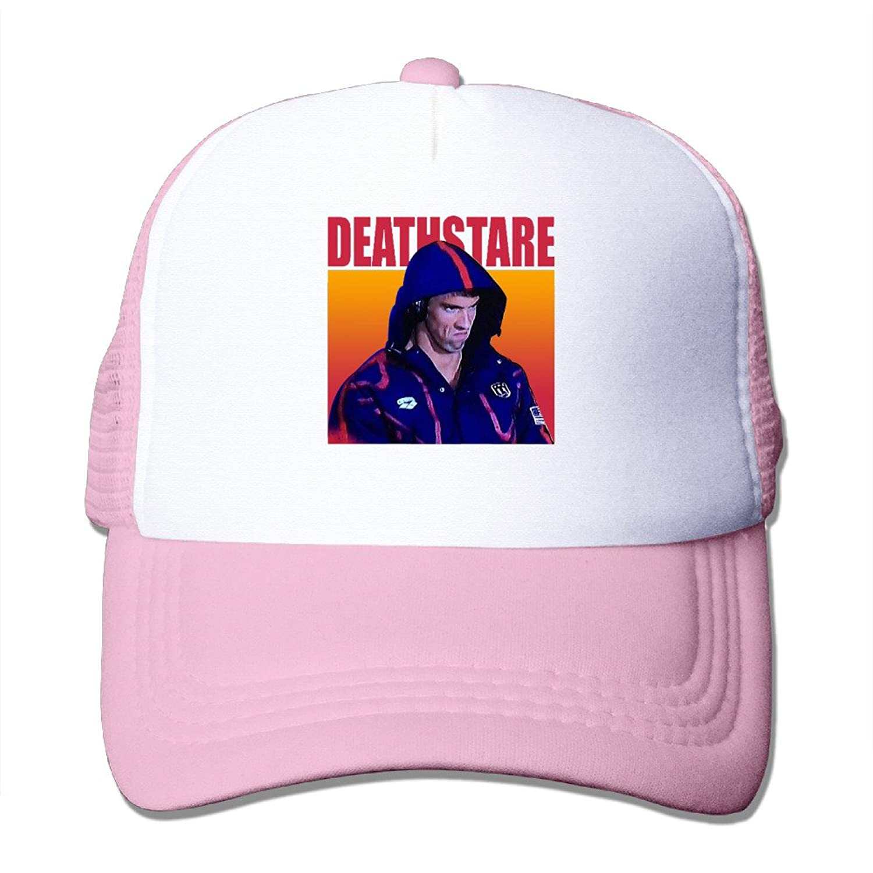 Geek PhelpsFace Adult Nylon Adjustable Mesh Hat Snapback Hip Hop Hat RoyalBlue One Size Fits Most