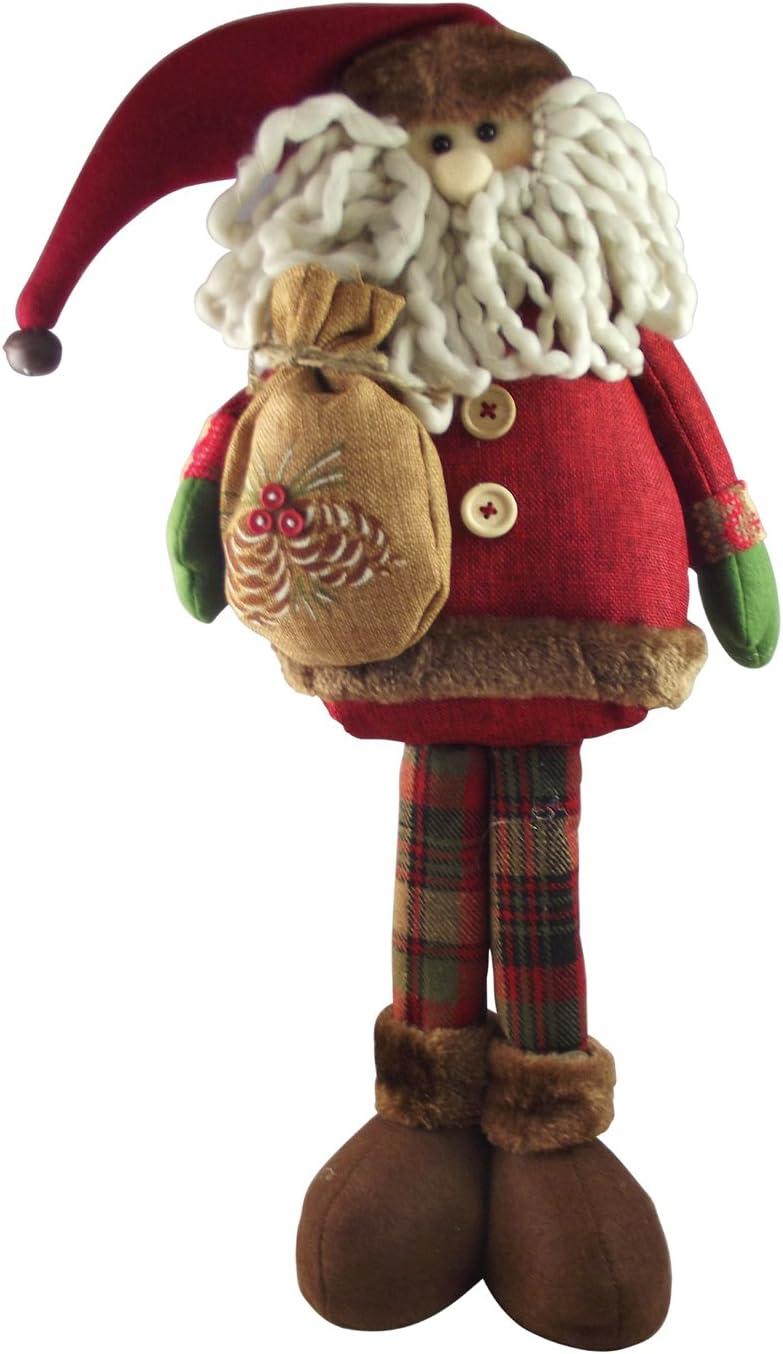 Tartan Wooden Reindeer Christmas Tree Decoration Gisela Graham