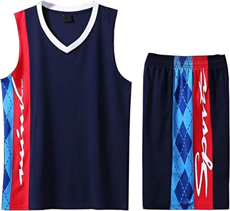 Conjuntos de camisetas de baloncesto Decoración de rayas de rombos ...