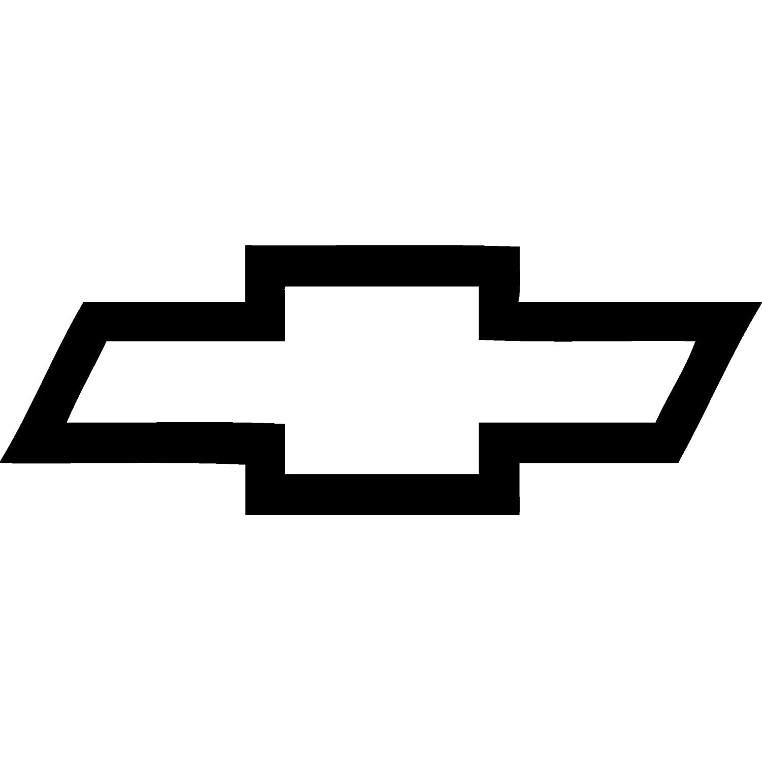 Amazoncom Chevy Bowtie Vinyl Decal Sticker For Car Or Truck