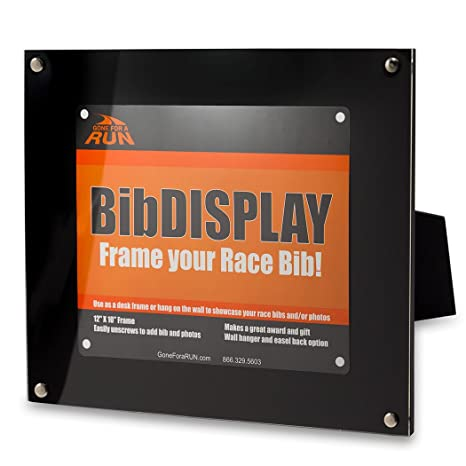 picture about Printable Race Bibs Free referred to as Long gone For a Work Runners Race Bib Present Body Adaptable Wall or Desk Exhibit