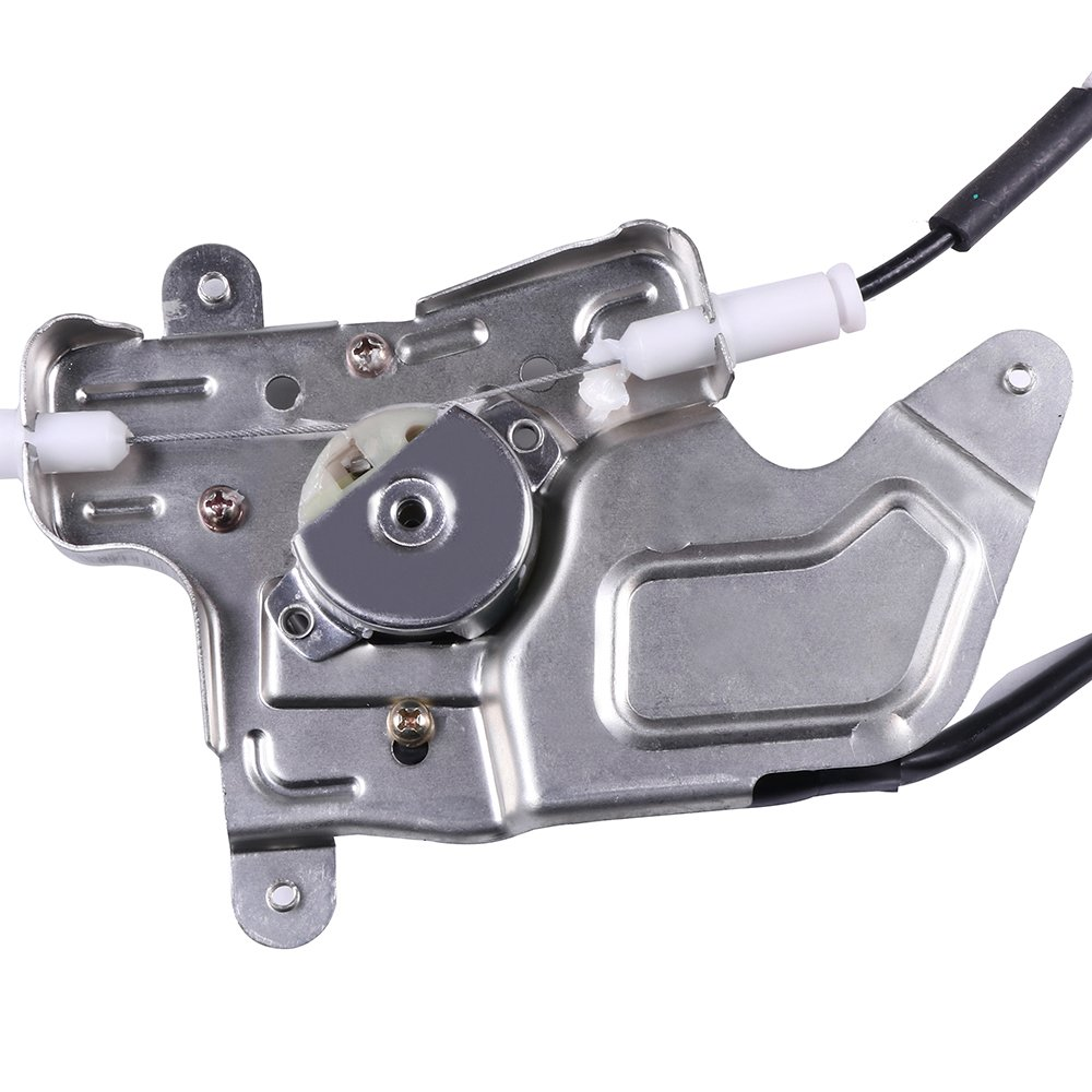 Power Window Regulators Rear Left Drivers Side with Motor Assembly Replacement Parts for 1999-2005 Pontiac Grand Am 1999-2004 Oldsmobile Alero 4 Door