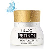 Retinol Moisturizer Cream, niceEshop(TM) Anti Aging Cream for Face and Eye Area,With 2.5% active Retinol, Hyaluronic Acid, Vitamin E & Green Tea, Best Day and Night Anti Wrinkle Moisturizing Cream, 1.7 Fl. Oz