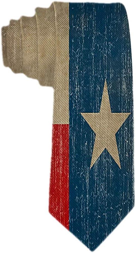 Corbatas para hombre de la bandera de Texas del vintage Corbata de ...