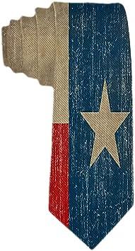 Corbatas para hombre de la bandera de Texas del vintage Corbata ...
