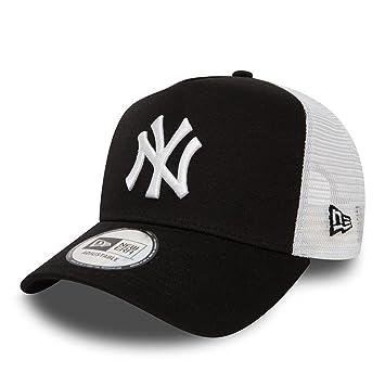 66ef5896bd873 New Era 9Forty AF Trucker New York Yankees Casquette Homme, Noir, FR  Fabricant :