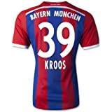 adidas Herren Spieler-Trikot FC Bayern München Replica Heim