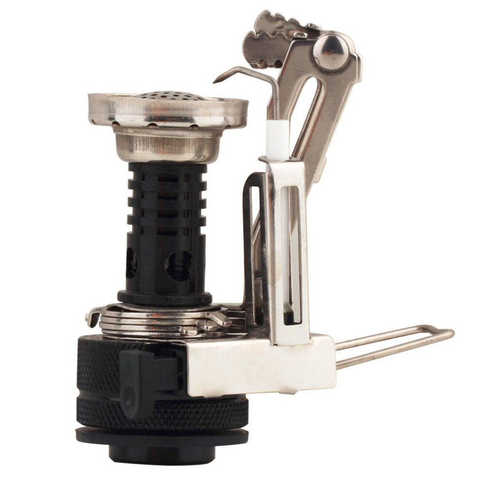 New Portable Outdoor Picnic Gas Foldable Camping Mini Aluminum Alloy Gas Stove by Isguin (Image #2)