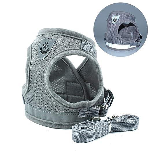 Ajustable Arnes Seguridad Chaleco dog Vest Harness Con la misma ...
